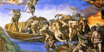 Miguel-Angel-Buonarroti-capilla-sixtina-Juicio-final-1536-51-detalle-de-los-infiernos